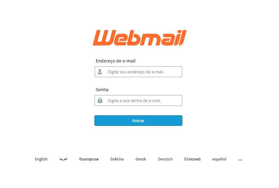 Acesso ao webmail da empresa