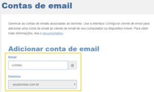 Como Criar Uma Conta De Email No Cpanel