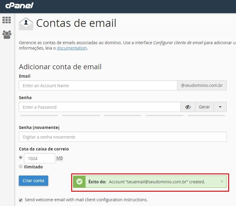 Confirmação-Conta-De-Email-Cpanel